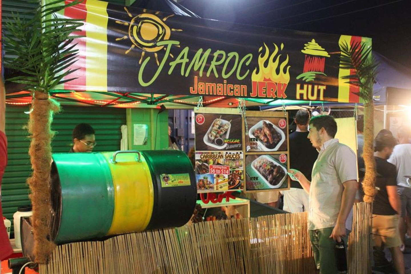 JAMROC jerk hut at the markets miami marketta